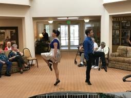 Adults dance, too!