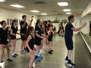 Learning choreography with the Fusion Fighters